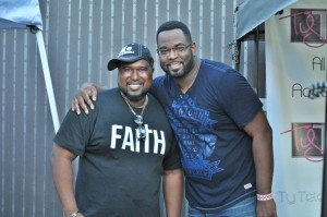 Fred with Kevin Levar