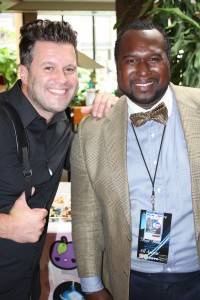 Fred with Wess Morgan
