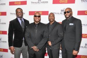 Q Parker, Daron Jones, Slim, and Michael Marcel Keith of 112