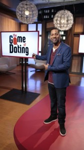 "Tony Rock, on set of ""The Game of Dating"""